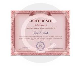 Stone's Certificate